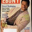EBONY  Magazine- October 1995 Denzel Washington