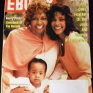 Ebony May 1995 Whitney Houston & Mother & Daughter on Cover, Barry White, Chanté Moore