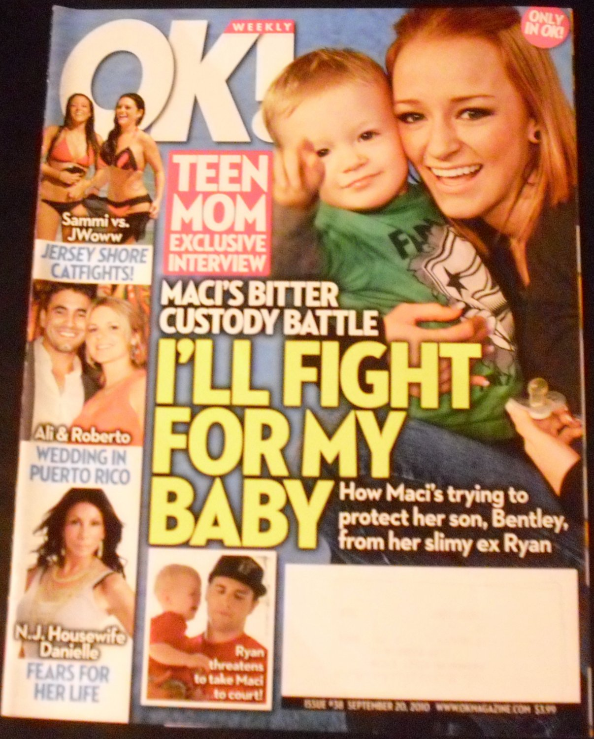 OK! Weekly Magazine September 20, 2010 (Teen Mom Exclusive Interview!)