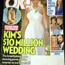 OK Weekly Magazine July 4 2011 Kim Kardashian $10 Million Wedding Bigger than Royals