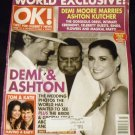 OK Weekly Magazine, October 24, 2005 Ashton & Demi Wedding