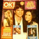 OK Weekly Magazine, October 10, 2005 Ashton & Demi Wedding