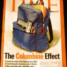 TIME Magazine March 19, 2001 (The Columbine Effect)
