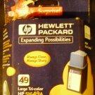 HP 49 Tri-Color Ink Cartridge in Retail Packaging