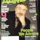 AARP January-February 2007 Robert DeNiro