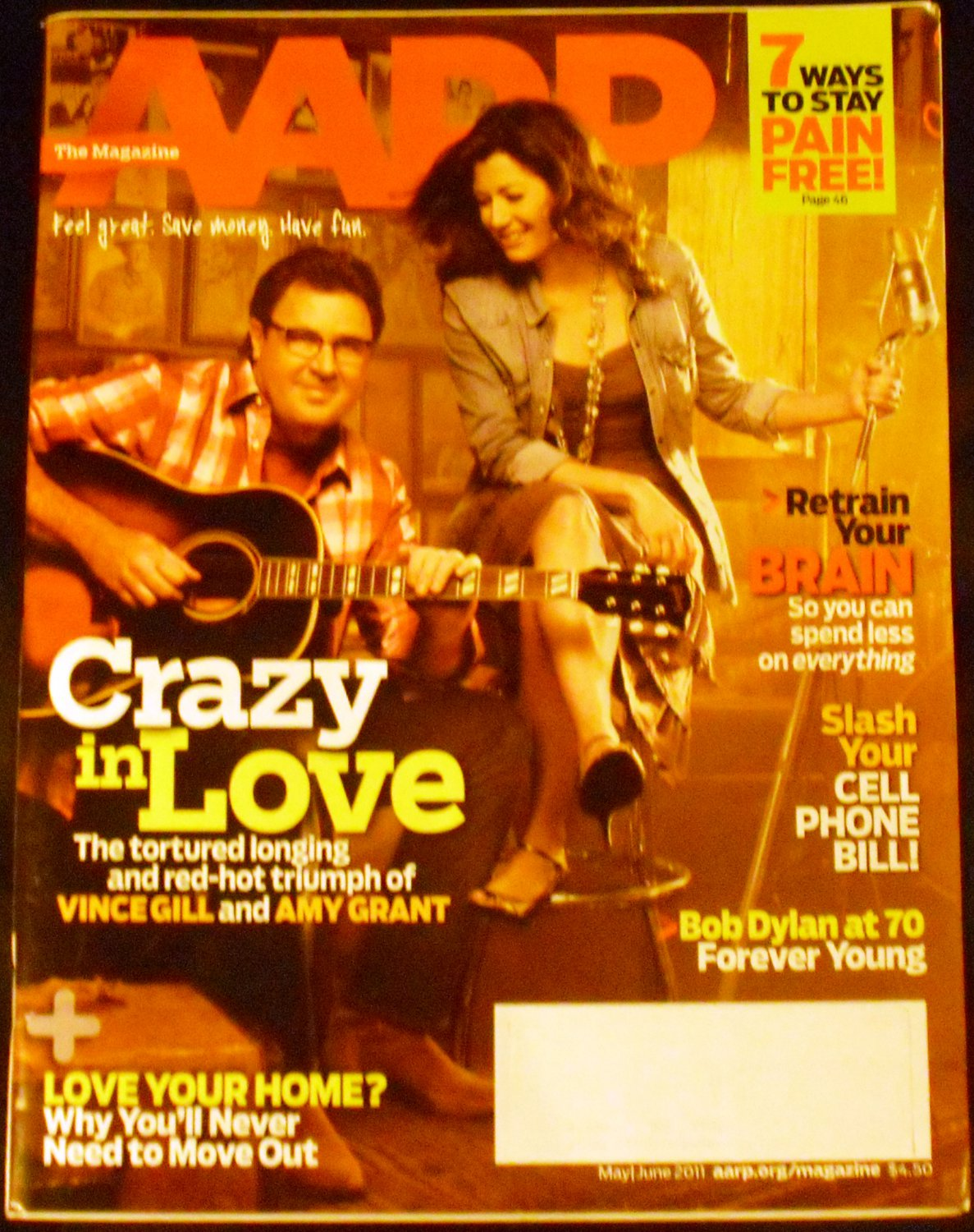 AARP May/ June 2011 (Vince Gill & Amy Grant)