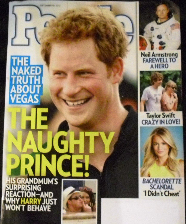People Magazine, September 10, 2012 (THE NAUGHTY PRINCE!)