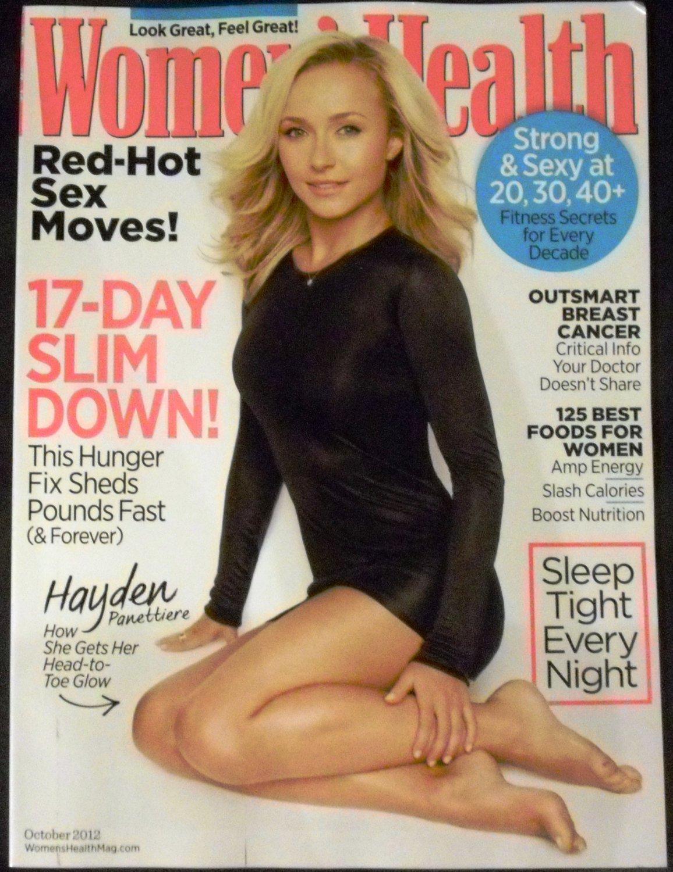 Women's Health Magazine (October 2012) Hayden Panettiere