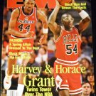EM Ebony Man Magazine April 1992 Harvey & Horace Grant