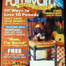Family Circle Magazine A Smart 101 Ways to Lose 10 Pounds, 22 Great American Crafts (July 21, 1992)