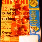 All YOU Magazine October 22, 2010: (Issue 10) 127 Ways to Live on nothing