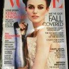 Vogue Magazine (October 2012) Keira Knightley (Tim Tebow, Andrew Garfield, etc)
