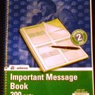 Adams Important Message Book, Spiral, 2-Part, Carbonless 200 Sets