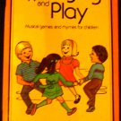 Wee Sing and Play Book by Pamela Conn Beall and Susan Hagen Nipp (1987, Paperback)