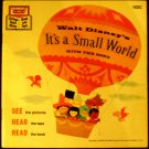 Walt Disney's It's a Small World with the Song [Paperback]