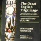 The Great English Pilgrimage by Christopher Donaldson (Sep 3, 2012)
