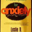 Prescription for Anxiety: How You Can... by Leslie D. Weatherhead (1979, Hardcover, Reprint)
