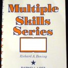 Multiple Skills Series Reading Level F, Book 1 by Richard A. Boning (1977)