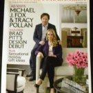 Architectural Digest December 2012 Michael J. Fox & Tracy Pollan