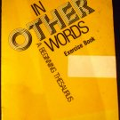 In other words, a beginning thesaurus: Exercise book [Paperback] Andrew Schiller (Author)