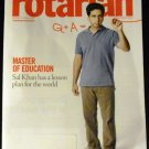 The Rotarian Magazine December 2012 - Master of Education, Sal Khan