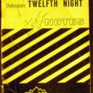 Shakespeare's Twelfth Night (Cliffs Notes) by James L. Roberts (Oct 4, 1960)