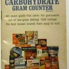 Brand Name Carbohydrate Gram Counter by Corinne Netzer with Elaine Chaback[1971]