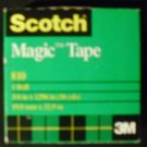 Scotch Magic Tape, 3/4 x 1296 Inches, Boxed, 1 Roll (810)
