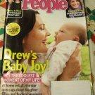 People Magazine December 24, 2012 - Drew's Baby Joy!