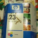 HP 23 Tri-Color Ink Cartridge in Retail Packaging