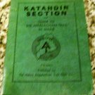 Katahdin Section of Guide to the Appalachian Trail in Maine (1961)