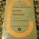 Contemporary British Novelists by Charles Shapiro (Jan 1, 1965)