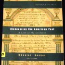 Discovering The American Past: A Look at the Evidence, Texbook Outlines by Becker & Wheeler