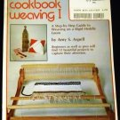 Cookbook Weaving I by Amy S Aspell (1977)