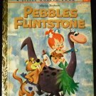 Hanna Barbera Pebbles Flintstone A Little Golden Book by Jean Lewis and Mel Crawford (1963)
