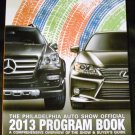 Philadelphia Auto Show Official 2013 Program Book