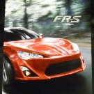 Scion FR-S Spec Book  00430-FRSBK-13