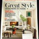 Architectural Digest Magazine April 2013