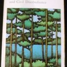 Walden and Civil Disobedience by Henry David Thoreau (Aug 1970)
