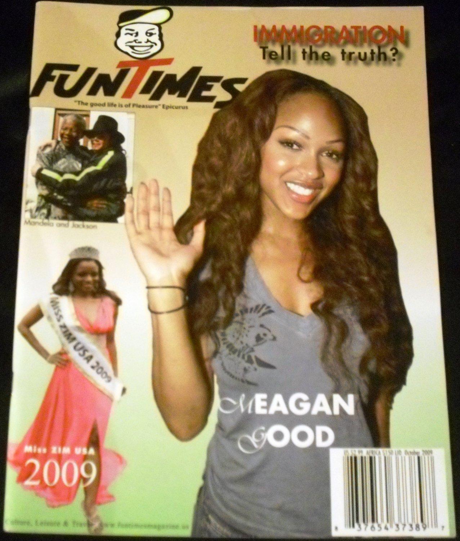 Fun Times Magazine October 2009 Megan Good