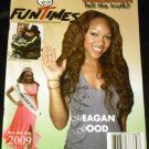 Fun Times Magazine October 2009 Megan Good