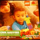 Lego Catalog for Preschoolers between 1.5 and 5, 2013
