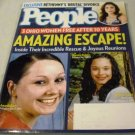 People Magazine May 20, 2013 - Amazing Escape! Amanda Berry, Georgina DeJesus, Michelle Knight