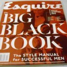 Esquire Magazine - The BIG BLACK BOOK. The Style Manual For Successful Men. Fall / Winter 2012