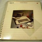 Apple IIe Owner&#39;s Manual [Spiral-bound] Joe Meyers (Author)