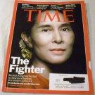 Time magazine January 10, 2011 Aung San Suu Kyi-Burma's Nobel Prize Winning Human Right Activist