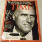 Time September 3, 2012 Mitt Romney The Republicans