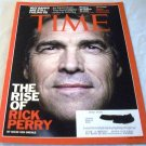 Time Magazine September 26 2011 Texas Governor Rick Perry, Roger Ebert's Life in Pictures