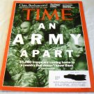 TIME MAGAZINE NOVEMBER 21,2011 An Army Apart 45,000 troops coming home