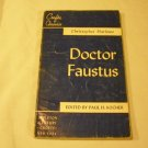 Doctor Faustus by Christopher; Kocher, Paul H. (editor) Marlowe (1950)